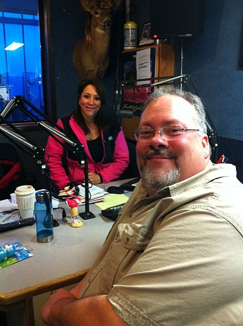 "Big Bear and Faith in the KORD Studio with the ""Morning Brew"""