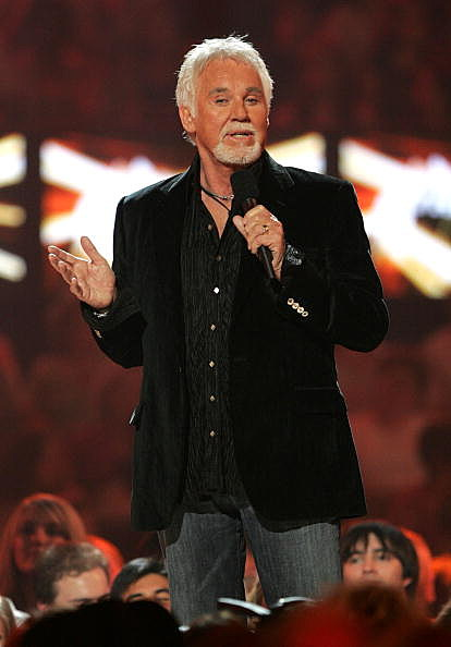 Kenny Rogers appears onstage at the 2006 CMT Music Awards at the Curb Event Center at Belmont University April 10, 2006 in Nashville, Tennessee
