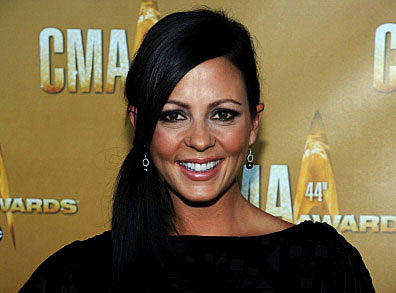 Sara Evans attends the 44th Annual CMA Awards at the Bridgestone Arena on November 10, 2010 in Nashville, Tennessee