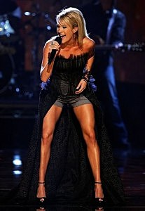 carrie underwood's legs