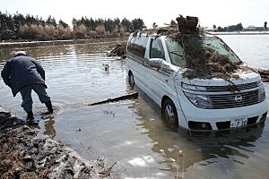 Earthquake And Tsunami Devastate Northern Japan