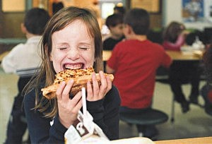 Kids + Pizza = Happiness