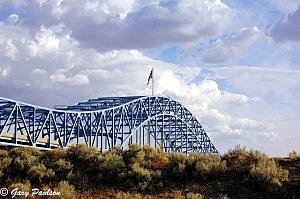 Blue Bridge from Pasco