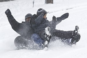 Seattle Area Hit With Snow Storm