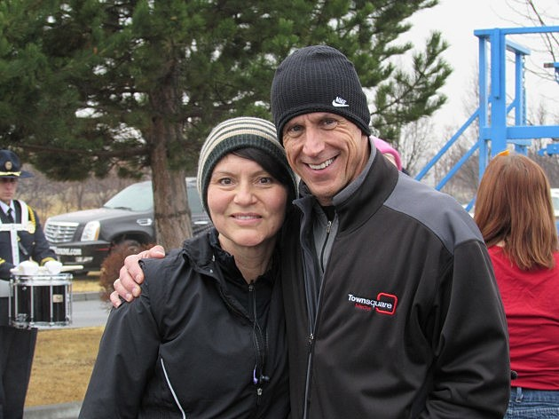 KORD's Paul Drake with wife Heidi